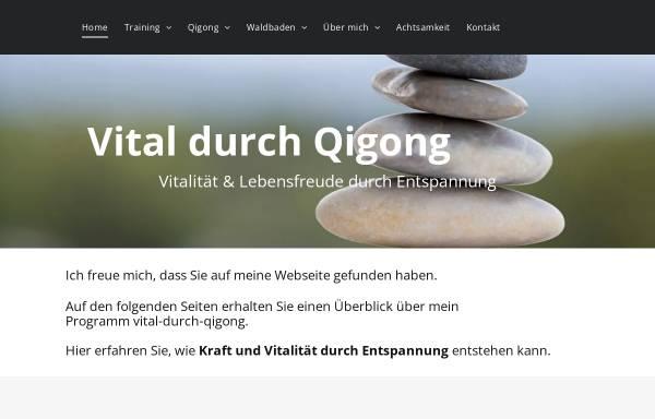 Vorschau von www.vital-durch-qigong.de, vital-durch-qigong