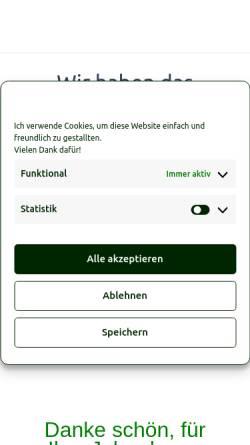 Vorschau der mobilen Webseite www.almpur.de, Almpur - Tiroler Spezialitäten auf dem Wochenmarkt