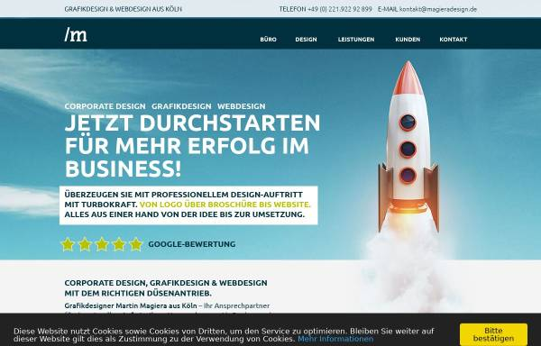 Vorschau von magieradesign.de, Magiera Design