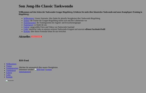 Vorschau von www.classic-tkd.saarland, Son Jong Ho Classic Taekwondo Saarbrücken