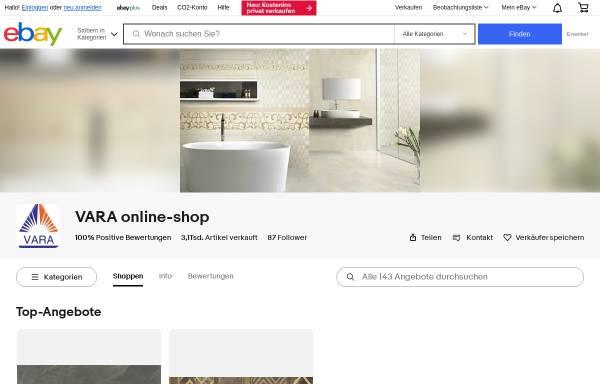 Vorschau von www.vara-shop.de, VARA Online Shop