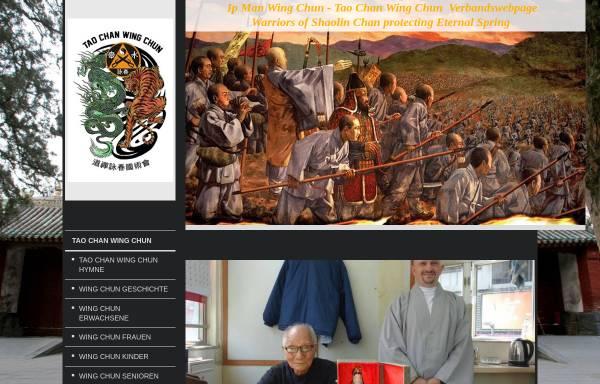 Vorschau von www.wingchun-ipman.de, Tao Chan Wing Chun Organisation Dachverband