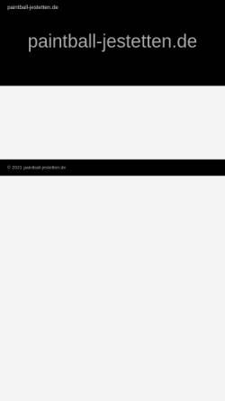 Vorschau der mobilen Webseite paintball-jestetten.de, Paintball Jestetten
