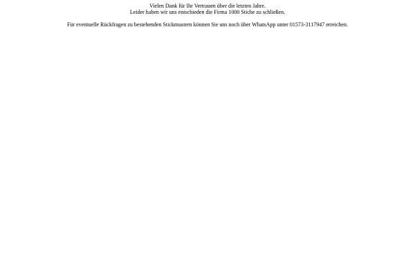 Vorschau von www.1000-Stiche.de, 1000-Stiche