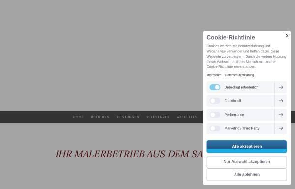 Vorschau von www.maler-mergenthaler.de, Malerbetrieb & Stuckateurbetrieb Mergenthaler
