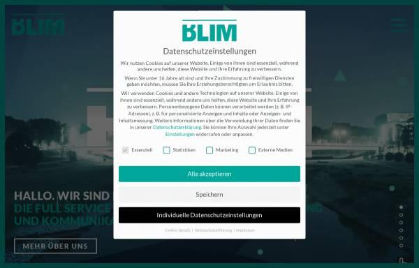 Vorschau von blim.de, BLIM GmbH