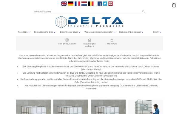 Vorschau von www.deltacontainer.de, Delta Containers Direct