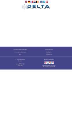 Vorschau der mobilen Webseite www.deltacontainer.de, Delta Containers Direct