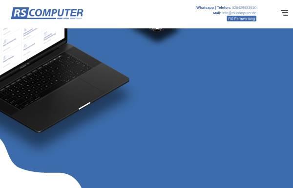 Vorschau von www.rs-computer.de, RS Computer GmbH & Co. KG