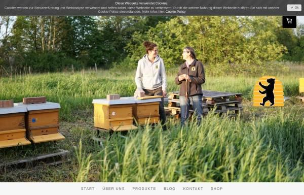 Vorschau von www.fliessgold.de, Imkerei Fließgold