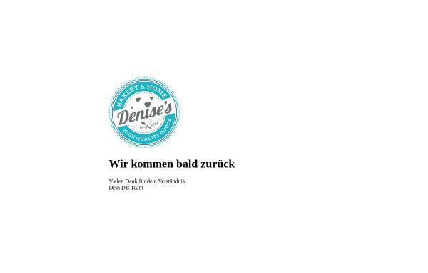 Vorschau von www.denisesbakery.ch, Denise's Bakery