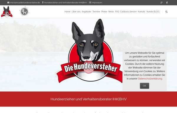 Vorschau von www.diehundeversteher.de, Die Hundeversteher