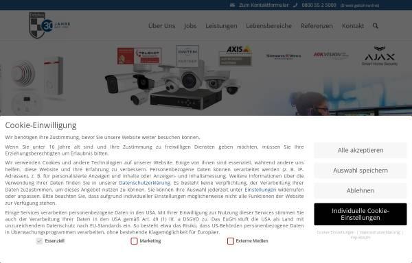 Vorschau von www.delphos.de, Delphos Alarm & Service GmbH
