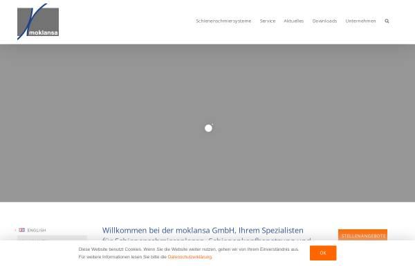 Vorschau von www.moklansa.de, Moklansa GmbH