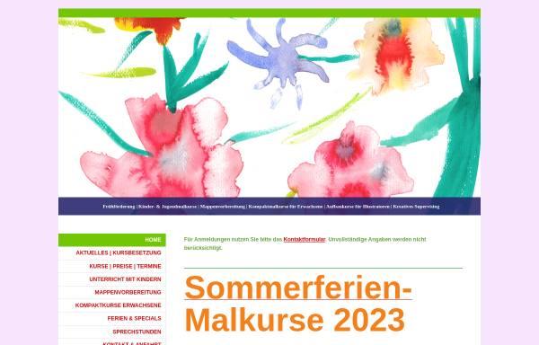 Vorschau von www.malschule-friedenau.de, Malschule Friedenau
