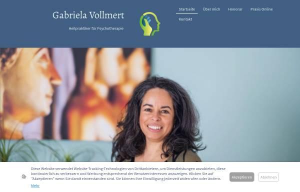 Vorschau von gabriela-vollmert.de, Praxis für Psychotherapie und Hypnose Gabriela Vollmert