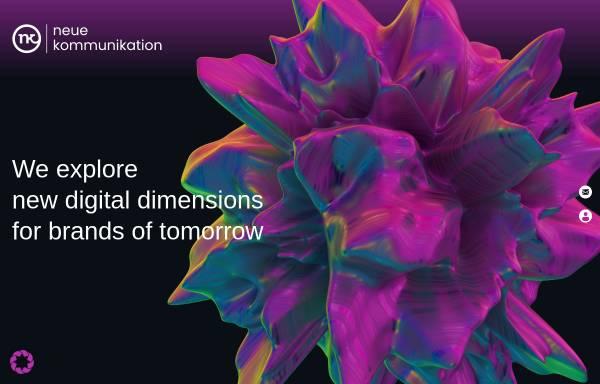 Vorschau von neuekommunikation.biz, nk neue kommunikation GmbH