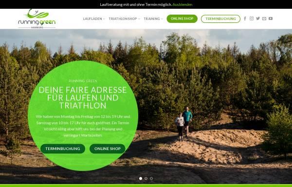Vorschau von www.running-green.de, running green GmbH