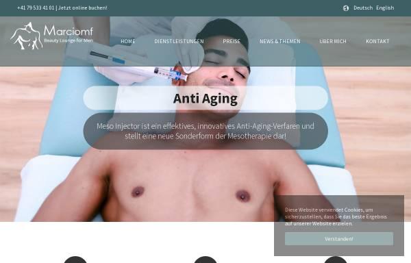 Vorschau von www.beautyloungeformen.ch, Beauty Lounge For Men
