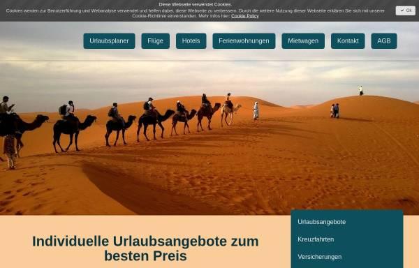 Vorschau von www.Urlaubsangebote-grenzenlos.de, Umbrella Reisen