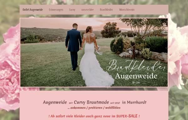 Vorschau von www.brautkleider-augenweide.de, Brautkleider Augenweide
