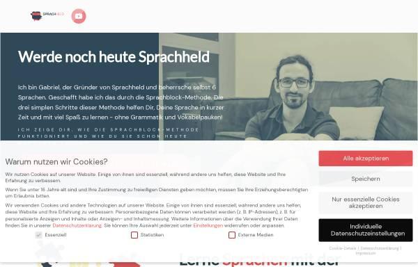 Vorschau von www.sprachheld.de, Sprachheld