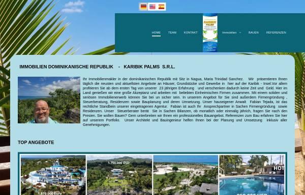 Vorschau von www.karibik-palms.com, Karibik Palms