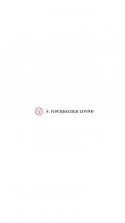 Vorschau der mobilen Webseite www.fischbacher-living.de, S. Fischbacher Living - Exklusives Parkett und Wohnen
