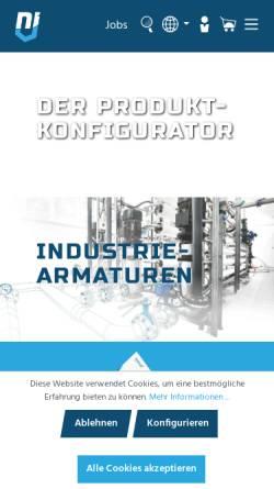 Vorschau der mobilen Webseite www.nieruf.de, NieRuf GmbH