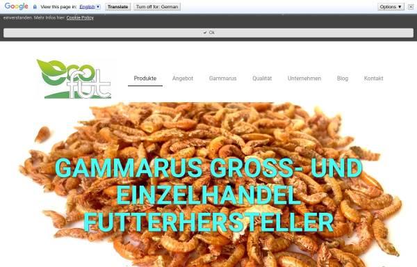 Vorschau von www.biofutter-gammarus.com, BR Handel - Bio Futter Gammarus