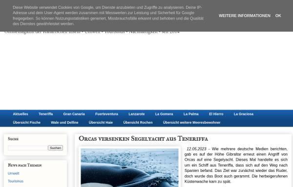 Vorschau von www.canariansea.com, Canarian Sea
