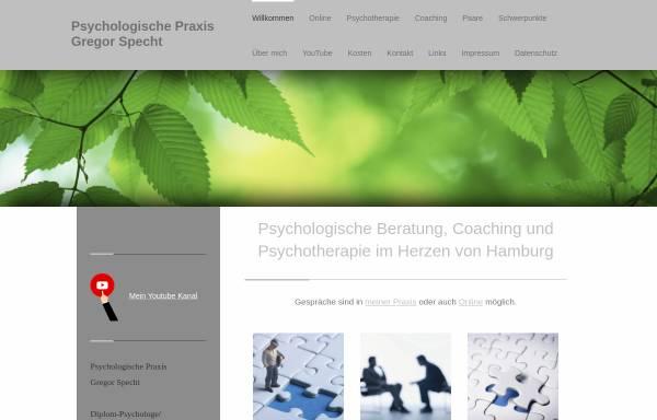 Vorschau von www.gregor-specht.de, Psychologische Praxis Gregor Specht