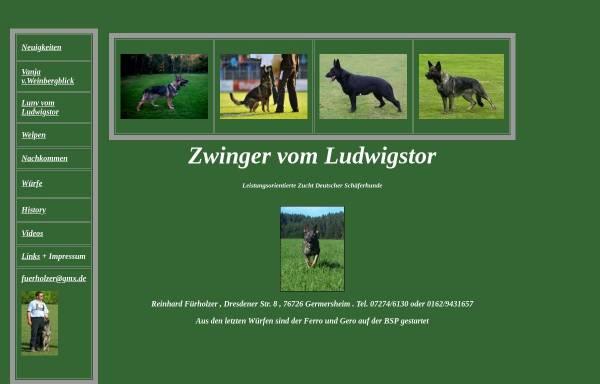 Vorschau von www.vomLudwigstor.de, Zwinger vom Ludwigstor