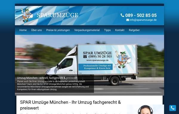 Vorschau von www.sparumzuege.de, SPAR Umzüge München