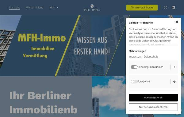 Vorschau von www.mfh-immo.de, MFH-Immo e.K.