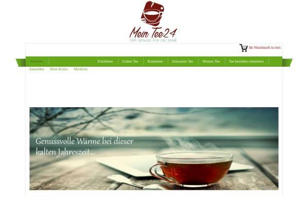 Vorschau von www.mein-tee24.de, Mein Tee24