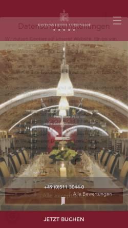 Vorschau der mobilen Webseite www.kastens-luisenhof.de, Kastens Hotel Luisenhof
