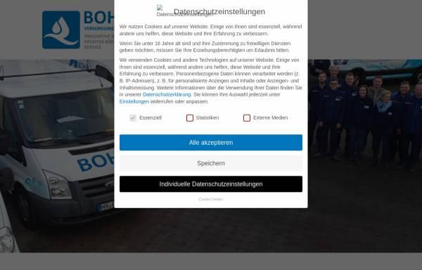 Vorschau von www.bohr-versorgungstechnik.de, Bohr Versorgungstechnik GmbH