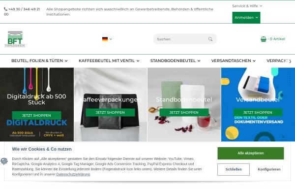 Vorschau von www.folientaschen.de, BFT Verpackungen GmbH