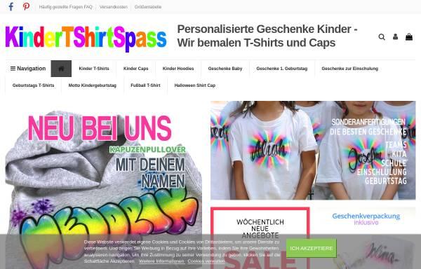 Vorschau von www.kindertshirtspass.de, kindertshirtspass