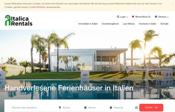 Vorschau von www.italica.de, italica e.K.