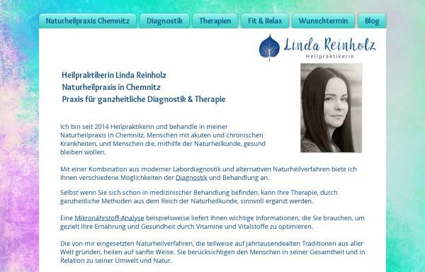 Vorschau von www.heilpotenzial.de, Heilpraktikerin Linda Reinholz - Praxis für ganzheitliche Diagnostik und Therapie