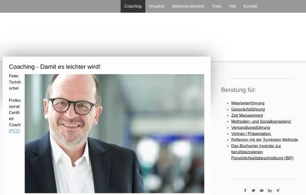 Vorschau von www.tschoetschel.de, Tschötschel Coaching