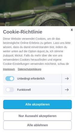 Vorschau der mobilen Webseite www.tschoetschel.de, Tschötschel Coaching