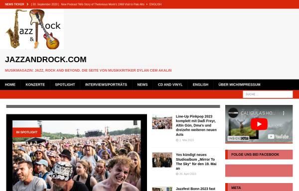 Vorschau von jazzandrock.com, jazzandrock.com