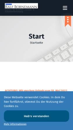 Vorschau der mobilen Webseite www.sozialberater-berlin.de, Der Sozialberater Berlin
