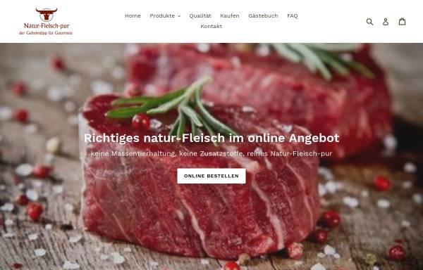 Vorschau von natur-fleisch-pur.com, Natur-Fleisch-Pur