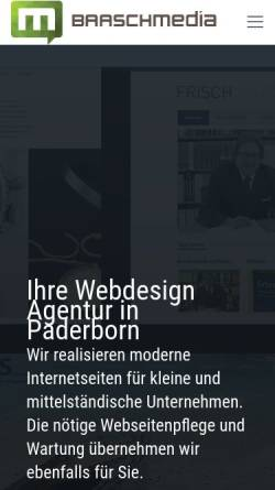Vorschau der mobilen Webseite www.baasch-media.de, Baasch Media