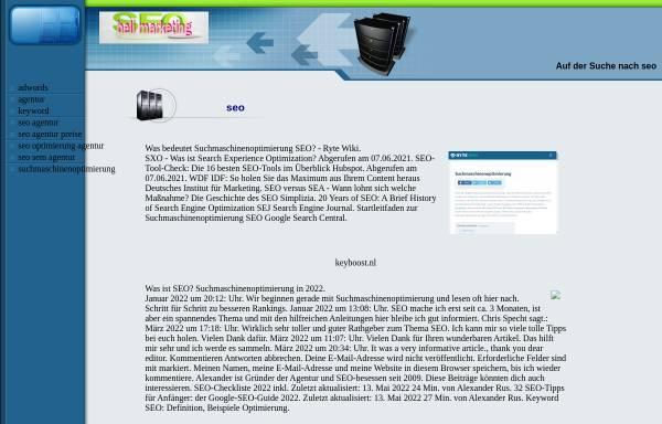 Vorschau von beli-marketing.de, Beli Marketing