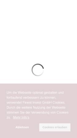 Vorschau der mobilen Webseite www.finest-invest.de, Finest Invest GmbH
